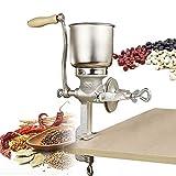 BALLSHOP Handgetreidemühle 5 L Handkaffeemühle Kornmühle Handmühle Getreidemühle Mohnmühle Schrotmühle Kaffeemühle Nussmühle