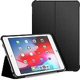JETech Hülle für iPad Mini 5 und iPad Mini 4 (2019/2015 Modell, 5./4. Generation), Doppelfalzständer mit stoßsicherer TPU Rückseite, Auto Schlafen/Wachen, Schwarz