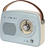 Madison - FREESOUND-VR30 - TRAGBARES Nostalgie Radio MIT Bluetooth & FM 30W