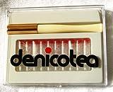 Zigarettenspitze Denicotea Lady weiß mit Auswerfer keine 20203 + 10 Filter