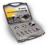 Amboss - Diamant Fliesenbohrer-/Bohrkronen - Set 9 tlg. (Ø 5-68 mm) Premium Black Edition   M14 für Winkelschleifer   Fliesen, Granit, Feinsteinzeug