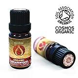 Ätherisches Zedernholzöl, COSMOS-biozertifiziert, 100% reines Öl, Atlas-Zedernholzöl, therapeutische Verwendung in der Aromatherapie, 10 ml, kostenloses E-Book von Ecodrop