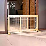 Trixie 3944 Hunde-Absperrgitter, Holz, 65–108 × 50 cm