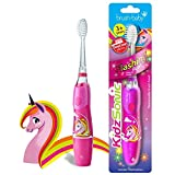Brush Baby KidzSonic Elektrische Zahnbürste für Kleinkinder und Kinder ab 3 Jahren -