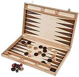 Square - Backgammon 40 cm - Bucheholz - Intarsie