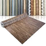 CV Bodenbelag Bartek Oak - extra abriebfester PVC Bodenbelag (geschäumt) - Bartek Eiche - edle Holzoptik - Oberfläche strukturiert - Meterware (200x100 cm)