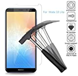 EJBOTH [2 Stück] Huawei Mate 10 Lite Panzerglas, Premium Gehärtetem Glas Handy Displayschutzfolie Schutzfolie Panzerfolie Transparent - High Definition 9H