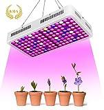 Roleadro RD-1000 LED Pflanzenlampe, Led Grow Lampe Full Spectrum Pflanzenlicht Wachsen licht Wachstumslampe Pflanzenlicht für Zimmerpflanzen, Gemüse, Blumen
