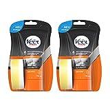 Veet Dusch Enthaarungscreme 2er Pack für Männer für schnelle und effektive Haarentfernung unter der Dusche Veet Men Haarentfernungscreme 2x150ml