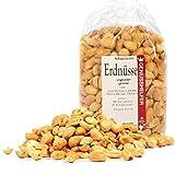 Erdnüsse 1000 Gramm ganz, ungesalzen, geröstet , knackige Erdnüsse, ohne Salz & ohne Geschmacksverstärker - Bremer Gewürzhandel