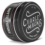 Charlemagne Matte Pomade - Starker Halt - Edler Duft - Matt Look Finish für die Haare - Mattes Haar-Wachs für Männer/Herren - 100ML Friseur Qualität   Styling Cream hergestellt in UK