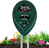 xwanli Boden-Feuchtigkeitsmessgerät Boden-Feuchtigkeitsmesser, Bodentester digitales Bodenmessgerät, Hydrometer für den Garten & die Landwirtschaft, Keine Batterien erforderlich