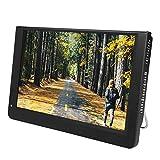 Garsent Tragbar Fernseher DVB T2 1280 x 800 Auflösung Audio Bildschirm Digital TV Multimedia Player