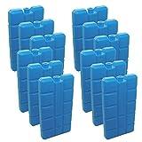 NEMT 2 Stück Kühlakkus Kühlelemente je 200ml für Kühltasche oder Kühlbox bis 12 h Kühlpack Kühlakku