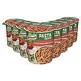 Knorr Pasta Snack Tomaten-Mozzarella-Sauce, 8 x 72 g