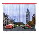 Gardine/Vorhang FCS xl 4312, Kinderzimmer Disney Cars