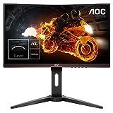AOC Gaming C24G1 - 24 Zoll FHD Curved Monitor, 144 Hz, 1ms, FreeSync Premium, HDMI, DisplayPort) schwarz