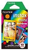 Fujifilm Instax Mini Instant Film, Regenbogen, Einzelpackung