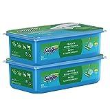 Swiffer Bodenwischer Feuchte Bodentücher (48 Tücher) Wischer ideal gegen Staub, Tierhaare & Allergene (2 x 24)