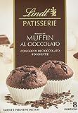 Lindt & Sprüngli Feines Backen Muffins Backmischung, 8 Portionen, lactosefrei, 2er Pack (2 x 210 g)