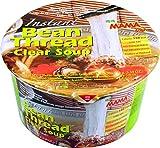 MAMA Instant-Bowl-Glasnudeln klare Suppe – Instantnudelsuppe orientalischer Art – Authentisch thailändisch kochen – 6 x 45 g