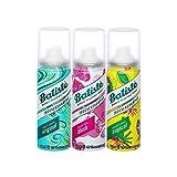 Batiste Trockenshampoo Dry Shampoo Mini Mix, Frisches Haar für alle Haartypen, 3er Pack 2+1 (3 x 50 ml)