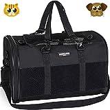 Songwin Hundetasche,Große Transporttasche für Haustiere,faltbar Hundetransportbox Auto Hundebox für Hund,Katzenbox,Katzentragetasche.