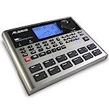 Alesis SR18  Portable Drum Machine mit Effekten, 175 Preset Patterns und 32MB großer Samplespeicher mit Percussion Bank und Bass Synth