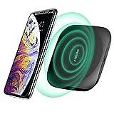 Azdome Kabelloses Ladegerät 10W Wireless Ladegerät mit Qi Zertifizierung Handy Induktionsladegerät für iPhone 11/XS Max/XS/XR/X, Samsung Galaxy S9/S9+/S8/S8+, Huawei Mate30/P40/P30 Serie usw