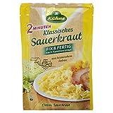 Kühne Klassisches Sauerkraut im Beutel, Fix und Fertig nach Familienrezept, 400 g