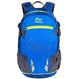 EGOGO 20L Leichtes Wandern Rucksack Fahrrad Rucksack Daypack Rucksack mit Regen Abdeckung S2321 (Blau)