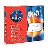 THE HEAT COMPANY Wärmegürtel - 3 Stück - EXTRA WARM - 12 Stunden wohlige Wärme - sofort einsatzbereit - luftaktiviert - rein natürlich - für alle Größen: S-XL
