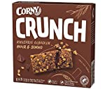 Corny Crunch Hafer & Schoko, knackiger Müsliriegel, 9er Pack (9 Schachtel mit je 6 Riegeln)