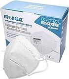 FFP2 Maske 100 Stück- DEKRA geprüfte Masken FFP2, FFP2 Maske wiederverwendbar, Mundschutz FFP2 Halbmaske