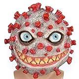 thematys Bakterium Maske in 7 verschiedenen Designs - perfekt für Fasching, Karneval & Halloween - Kostüm für Erwachsene - Latex, Unisex Einheitsgröße (Style 6)