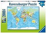 Ravensburger 12890 - Die Welt - 200 Teile XXL Kinderpuzzle