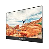 WIMAXIT External Touch Screen Monitor, 15.6 Inch Ultra Slim 1920x1080 16: 9 Screen, Type C/USB C Monitor, Compatible with Laptop, Android Phone, Switch and Other Games Consoles