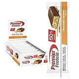 Premier Protein Protein Bar Chocolate Caramel 24x40g - High Protein Low Sugar Riegel