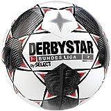 Derbystar Kinder Bundesliga Magic S-Light Fußball, weiß schwarz rot, 5
