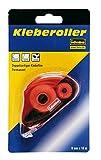 Idena 326147 - Kleberoller, 10 m x 8 mm, doppelseitiger Klebefilm, Farblich sortiert