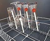 x-mike Glashalter/Gläserhalter für Spülmaschine/Geschirrspüler Das Original