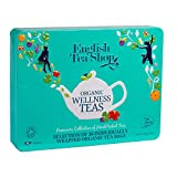 English Tea Shop - Tee-Geschenkbox aus Metall 'Wellness Selection' mit 36 BIO-Tees