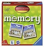 Ravensburger 26630 - Deutschland Memory, der Spieleklassiker quer durch Deutschland, Deutschlandreise, Merkspiel für 2-8 Spieler ab 4 Jahren