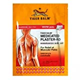 6X Tiger balm Wärmepflaster Patch Plaster Warm Medicated Pain Relief 1pc Importiert von Allasiangoods