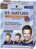 Schwarzkopf Re-Nature Re-Pigmentierung, Männer Dunkel Stufe , 1er Pack ,2 x 50 ml Haarfärbemittel und 2 x 22,5 ml Shampoo