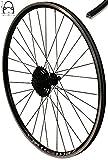 Redondo 28 Zoll Hinterrad Laufrad V-Profil Felge Schwarz 8-Fach Shimano Kassette