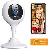 APEMAN Babyphone mit Kamera, 1080P WLAN Kamera und Überwachungskameras mit Nachtsicht Fernüberwachung kompatibel mit IOS/Android