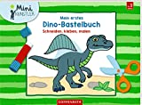Mein erstes Dino-Bastelbuch: Schneiden, kleben, malen (Mini-Künstler)