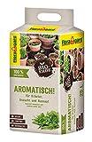 Floragard Bio-Erde Aromatisch 1x25 Liter - für Anzucht und Aussaat sowie für Kräuter - torffrei und vegan