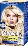Schwarzkopf Blonde Aufheller L1++ (Extrem Aufheller Bis Zu 9 Stuffen) , Stufe 3, 3er Pack (3 x 143 ml)